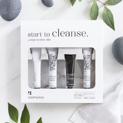 Start to cleanse box